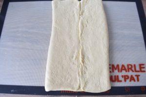 Pliage de pâte feuilletée