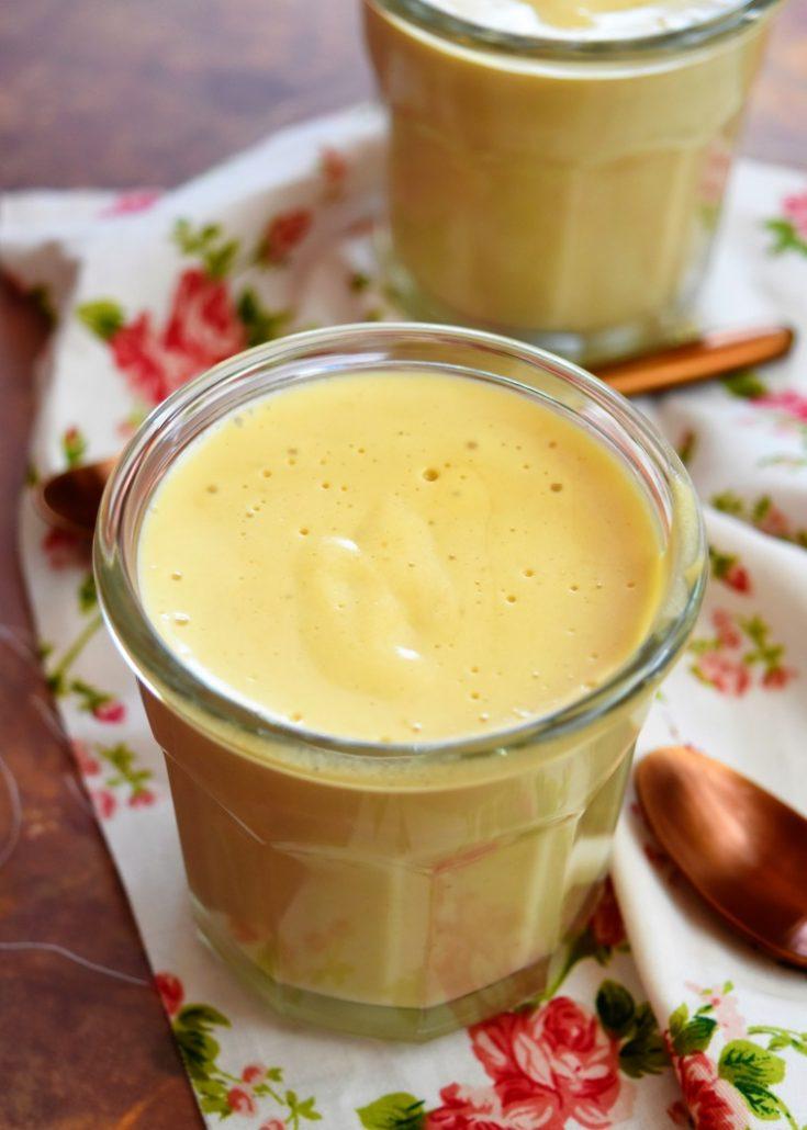 Crèmes façon cappuccino
