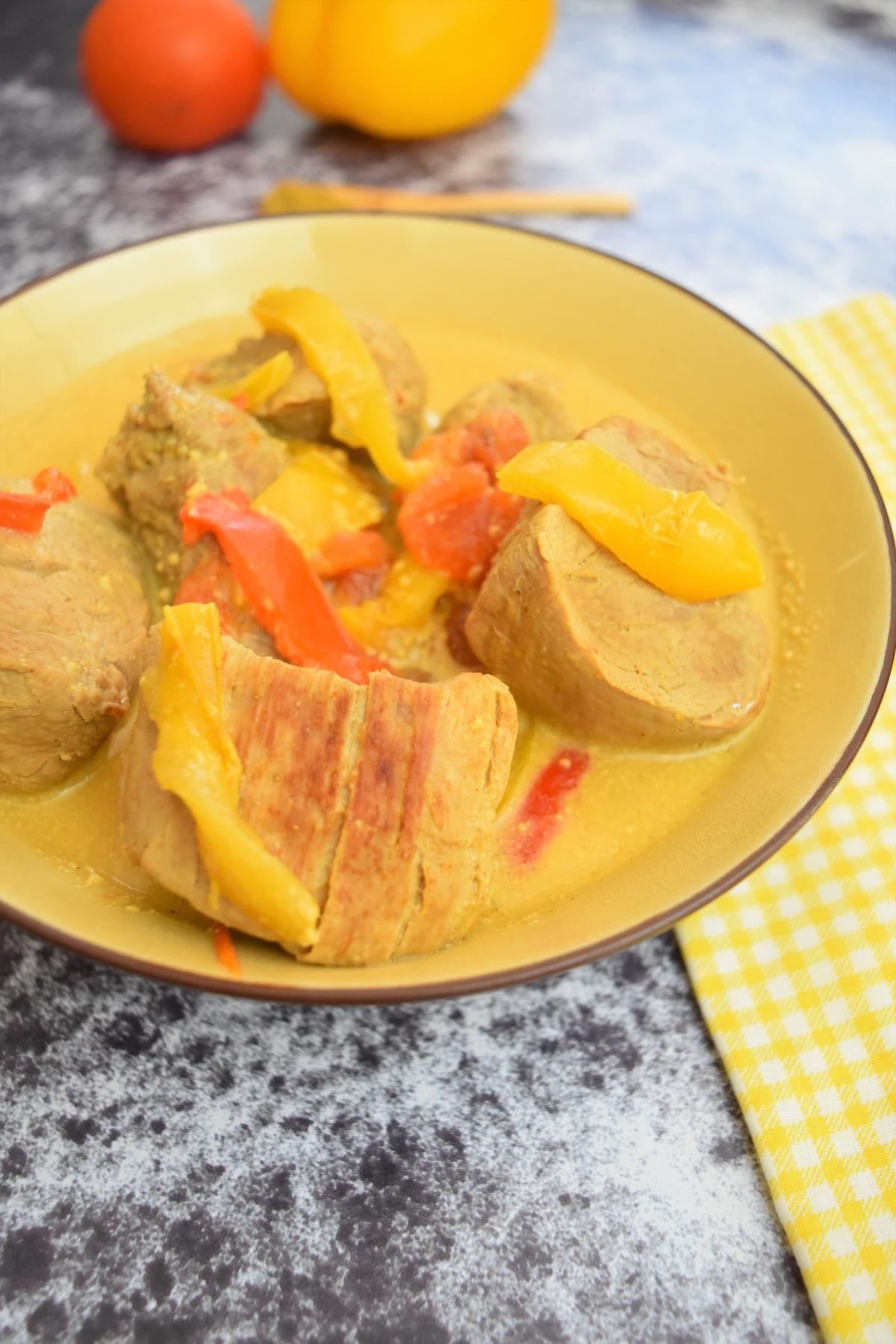 Curry de filet mignon - recette facile au Cookeo
