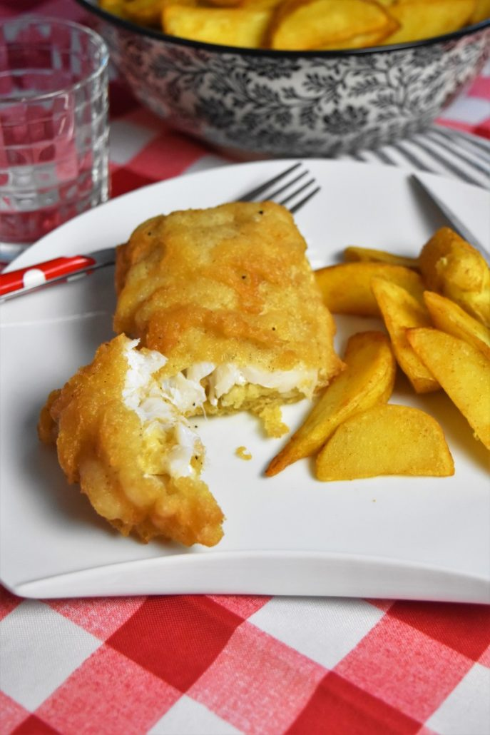 Fish and chips comme en Angleterre