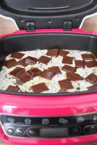 beurre et chocolat fondus au cake factory