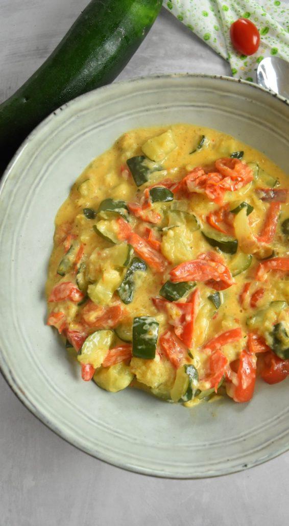 Légumes à la crème au Cookeo