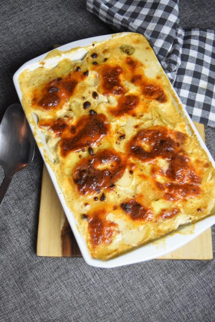 Gratin de pommes de terre à la mozzarella à l'Omnicuiseur