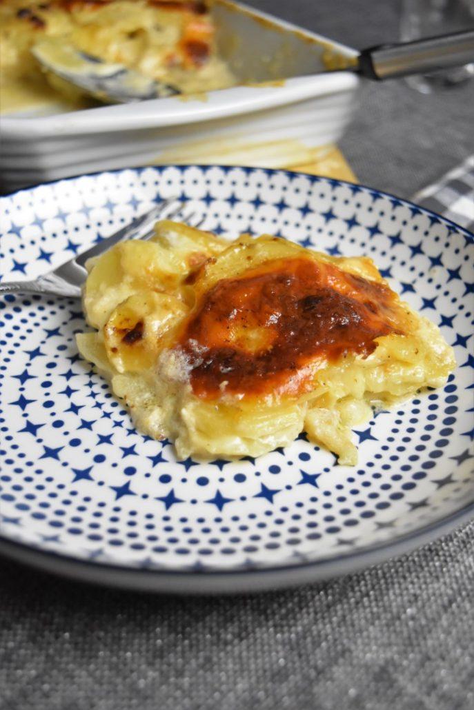 Pommes de terre à la mozzarella