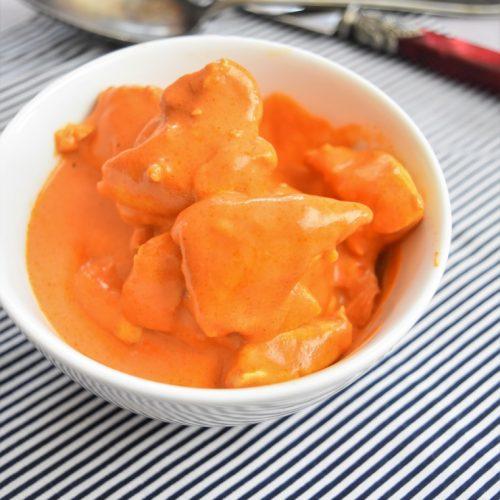 Poulet sauce mascarpone et tomate