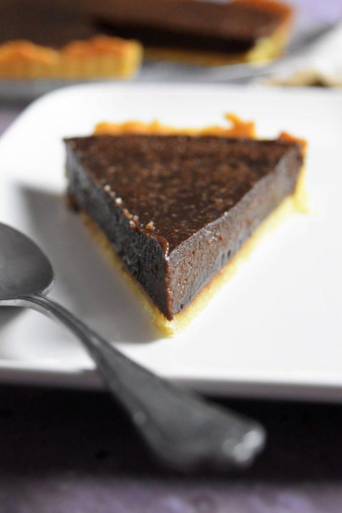 Parte de tarte au chocolat