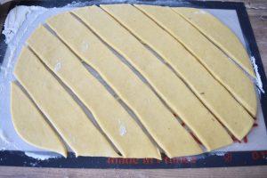 Bandes de pâte pour bugnes