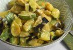Courgette et aubergine au Cookeo