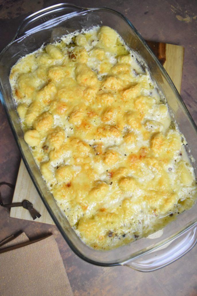 Gnocchi au poulet et aux fromages