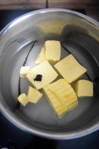 Bain de pochage pour pommes
