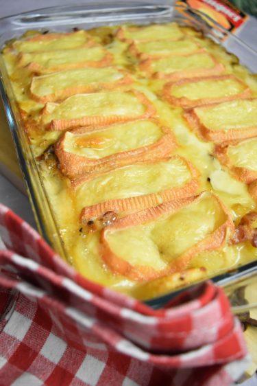 Tartiflette au maroilles au Cookeo