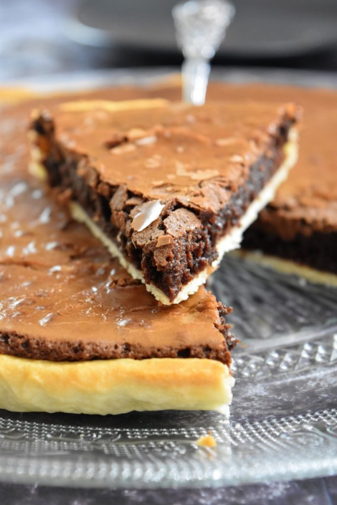Brownie en tarte