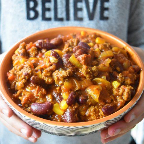 Chili au Cookeo