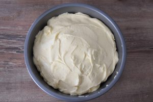 Pâte à gâteau aux pommes