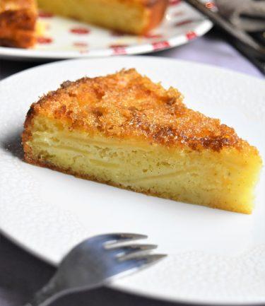 Gâteau aux pommes crousti-fondant