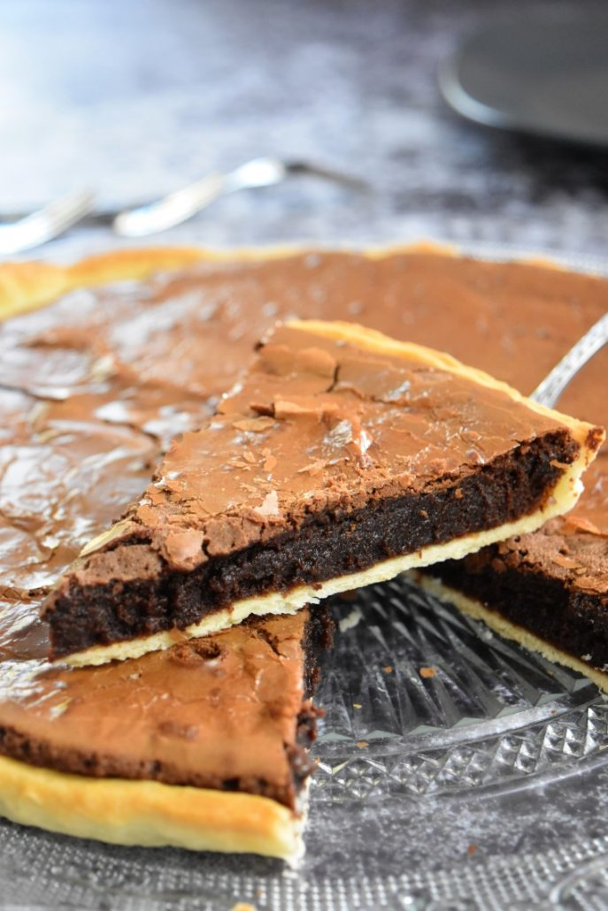 Tarte et brownies