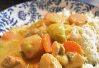 Blanquette de poulet aux légumes