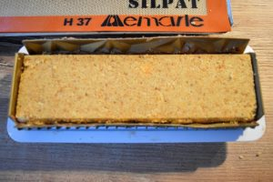 Montage de la bûche cheesecake