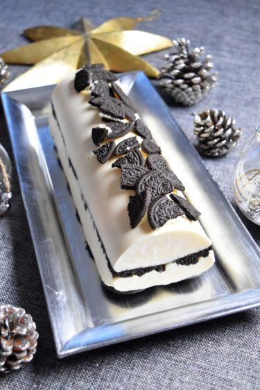 Bûche de Noël aux Oreo