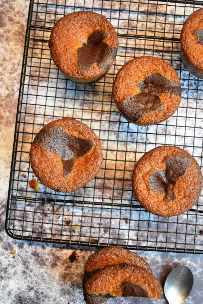 Gâteaux marbrés