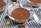Crème dessert au chocolat et banane