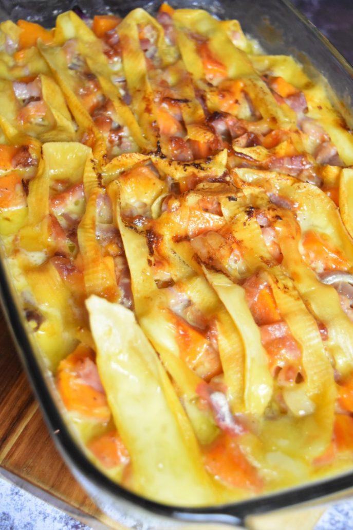Tartiflette à la patate douce à l'Omnicuiseur
