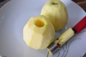 Pommes Golden évidées pour beignets