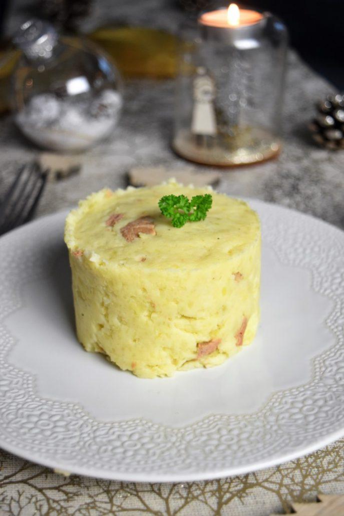 Ecrasé de pommes de terre au foie gras