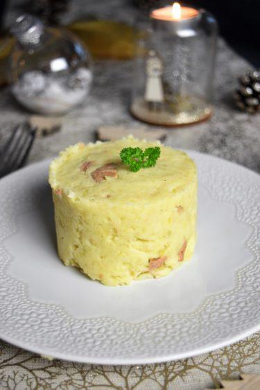 Purée de pommes de terre au foie gras