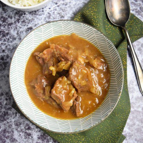 Boeuf aux oignons au Cookeo