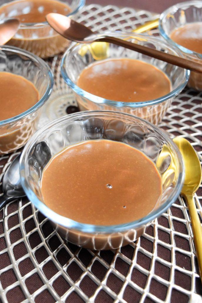Crème au chocolat au lait facile et légère
