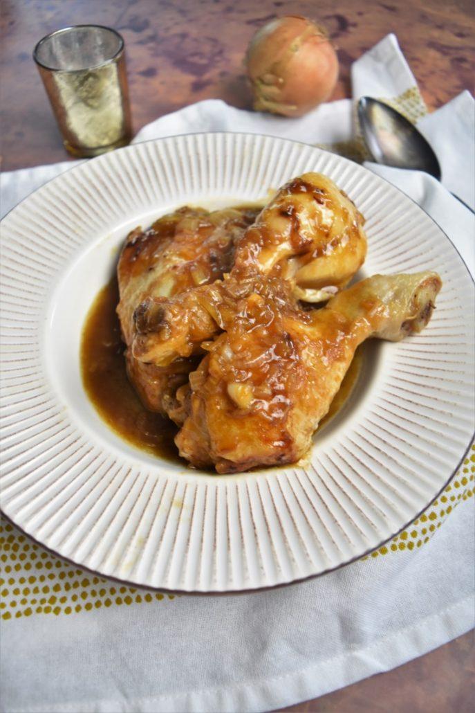 Cuisses de poulet au coca
