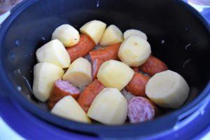 Préparation de la choucroute au Cookeo