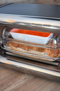 Crevvettes et riz cuisson omnicuiseur