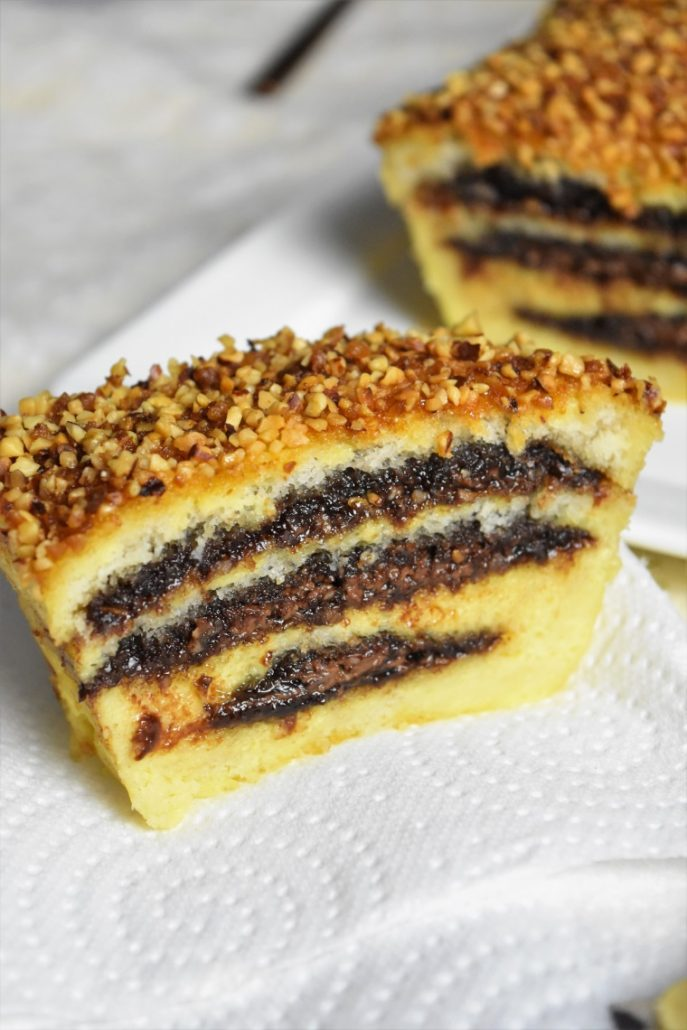 Croque cake nutella
