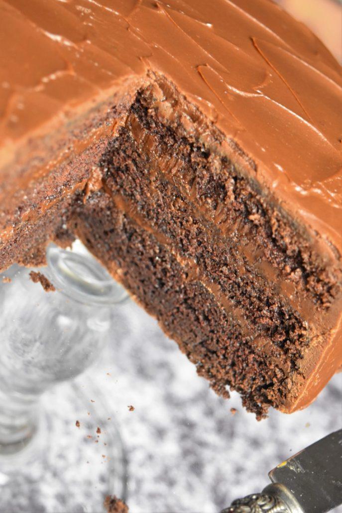 Gâteau du diable américain