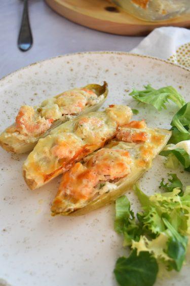 Endives aux crevettes et mozzarella