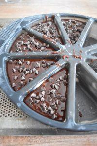 Préparation des fondants au chocolat
