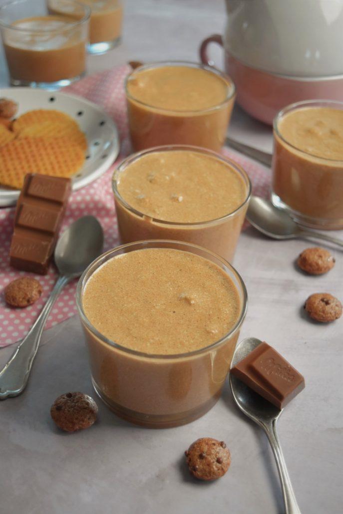 Mousses au chocolat au lait