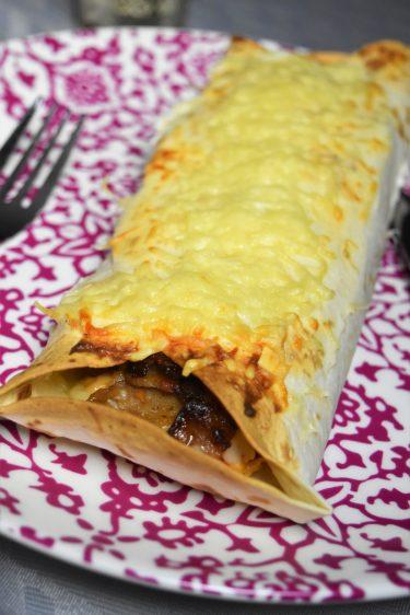 Wrap à la viande kebab