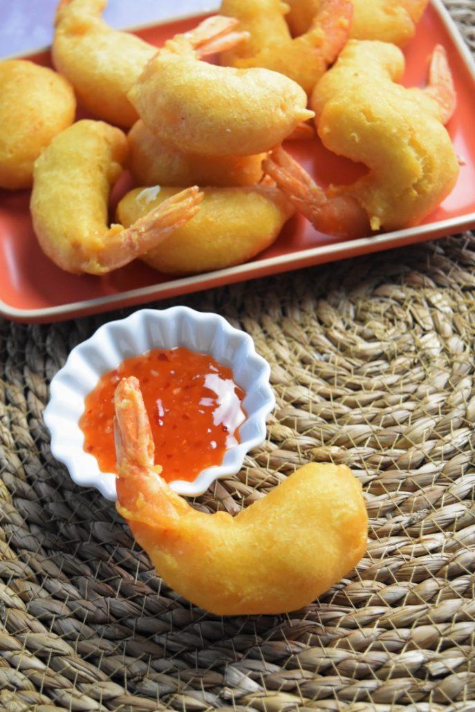 Beignets de crevettes parfaits