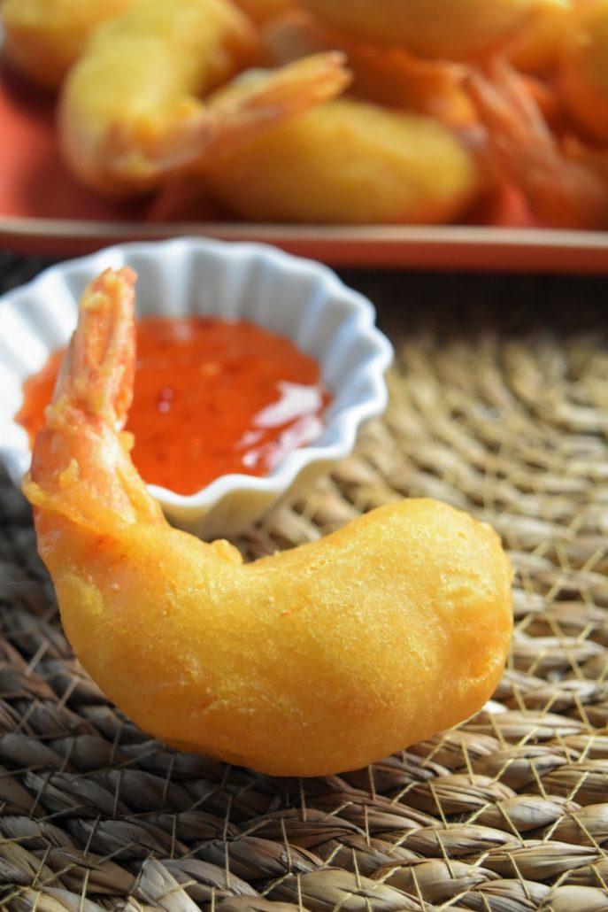 Beignets de crevettes maison
