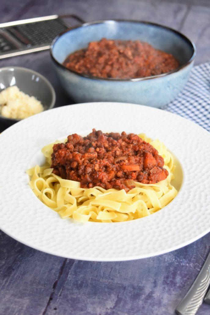Sauce bolognaise sans viande