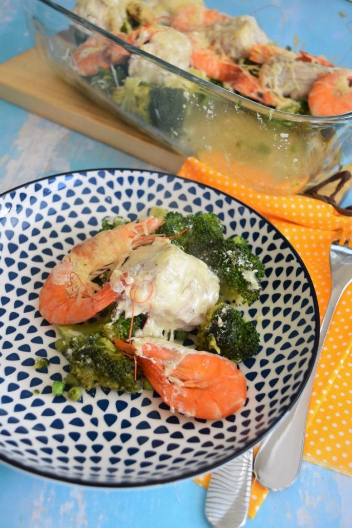 Saumonette et légumes