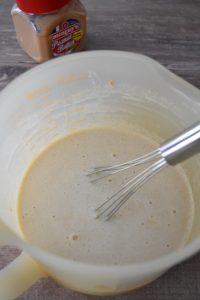 Crème pour glace au beurre de cacahuètes