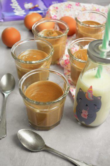 Crème au chocolat au lait et ricotta