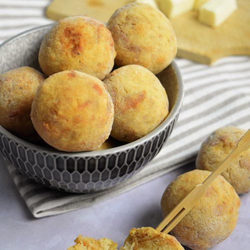 Croquettes avec pain rassi