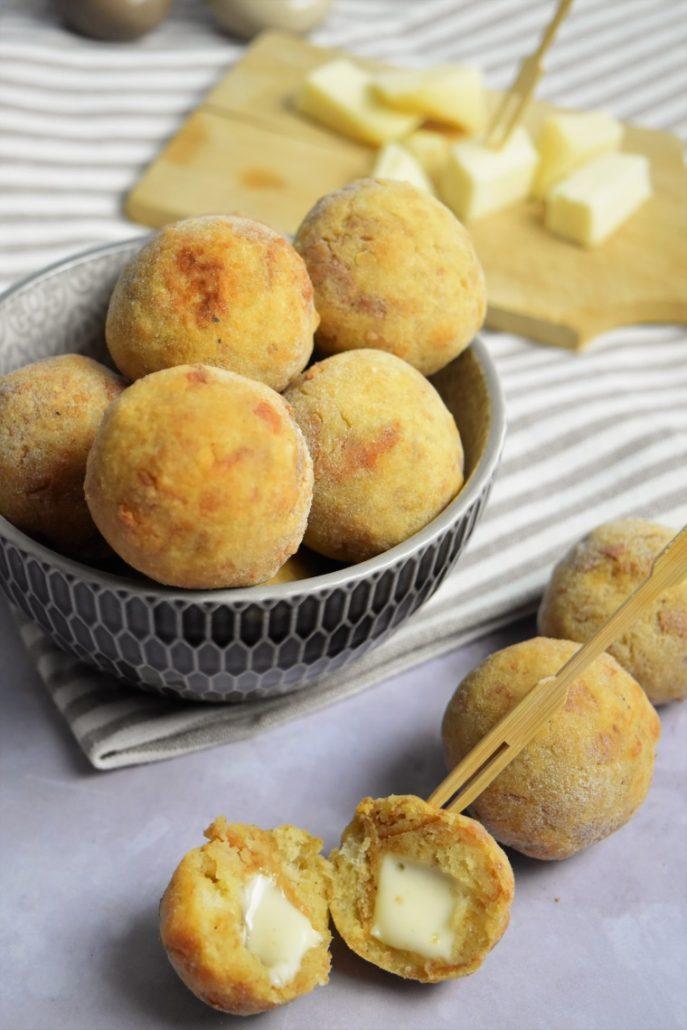 Boulettes au pain rassi et fromage