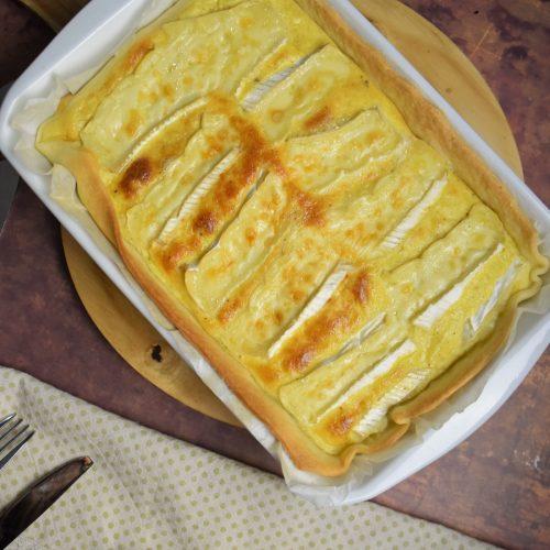 Quiche au fromage de Brie