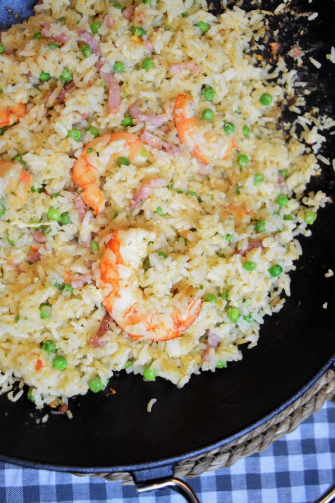 Riz frit aux crevettes façon thaï